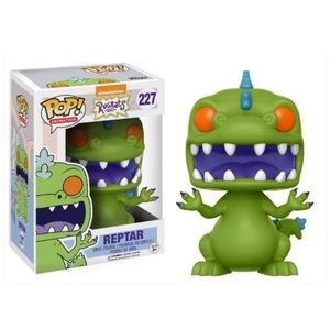 Rugrats Reptar Funko POP Action Figure 227 Retired